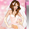 Flower-Power Wedding Dress Up Spiel