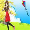 Flying Kite Girl game