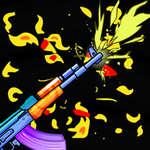 Flippin pisztoly játék