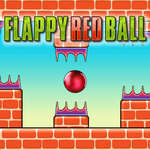 Flappy Red Ball game
