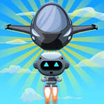 Летящ робот игра