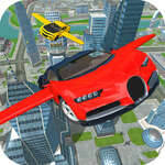Flying Car De conducere Simulator joc