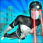 Fliegende Superhelden Rache Grand City Captain Spiel