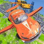 Uçan Araba Ekstrem Simülatörü oyunu