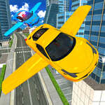Simulador de coches voladores 3d juego