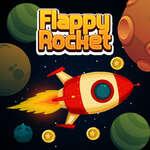 Cohete Flappy juego