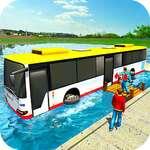 Floating Water Bus Racing Jeu 3D jeu
