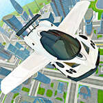 Flying Car Real Driving game