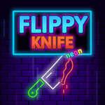 Обръщане нож неон игра