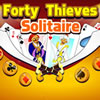 Forty Thieves Solitaire joc
