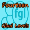 Fourteen Glad Levels game