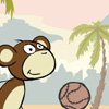 Football monkey game