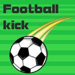 Coup de pied de football jeu