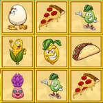 Foody memória játék