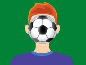 Футболен жонгл игра