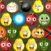 Visages de fruits jeu