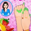 Fruit Fashion Nail Art game