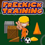 Freekick Training spel