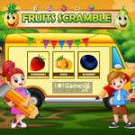 Fruits Scramble game