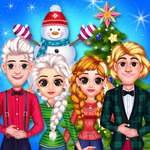 Frozen Princess Christmas Celebration juego