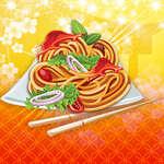 Пържени спагети игра