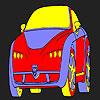 Vicces és forró autó színező játék