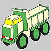 Футуристичен камион оцветяване игра