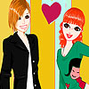 Funny friends dress up game