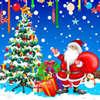 Zábava vianočné hra