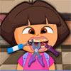 игра Дора смешные стоматолог
