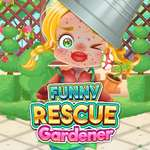 Funny Rescue Gardener game