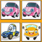 Funny Cars Memory game