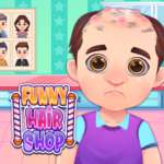 Funny Hair Salon game