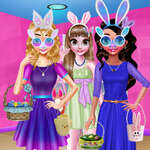 Funny Easter Girls game