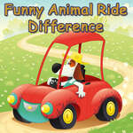 Funny Animal Ride Difference game