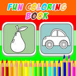 Divertido libro para colorear juego