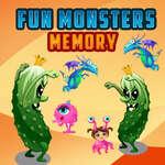 Divertidos monstruos de memoria juego