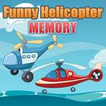 Vicces helikopter memória játék