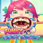 Funny Throat Surgery game