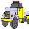 Газ камион оцветяване игра