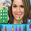 Gemma Atkinson, diş hekimi oyunu
