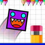 Geometry Jump Sketchy game