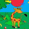 Zsiráf kaland játék
