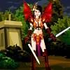 Kız güç savaşçı Giydir oyunu
