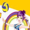 volejbal dievčatá hra