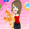 Girls Fly Dressup game