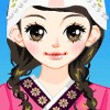 Girl Wearing Korean Costumes game