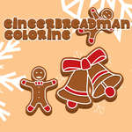 Gingerbread Man Coloring game