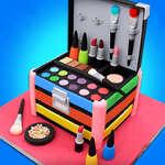 Момиче грим комплект Comfy торти Красива кутия пекарна игра