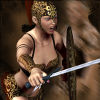 Gladiatore Girl Dress Up gioco
